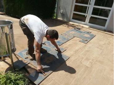 El hormigón impreso está considerado un elemento más para la decoración de interior y exterior