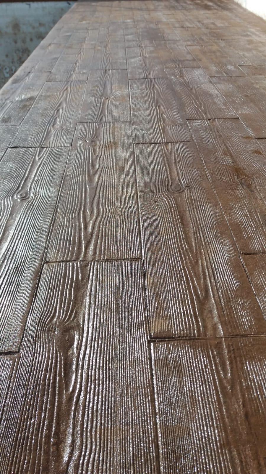 El hormigón impreso, el pavimento que se adapta a todo.